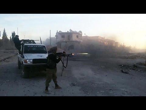 العرب اليوم - شاهد قوات سورية الديمقراطية تحقق تقدما ضد  داعش