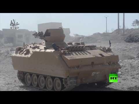 العرب اليوم - شاهد قوات الفصائل السورية المعارضة تمشط مدينة الباب