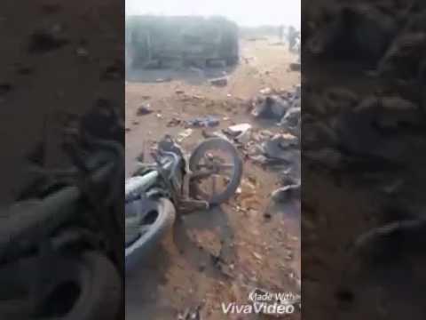 العرب اليوم - بالفيديو 45 قتيلًا في انفجار سيارة مفخخة قرب مدينة الباب السورية
