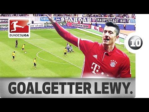 فلسطين اليوم - أفضل أهداف ليفاندوفسكي في الدوري الألماني