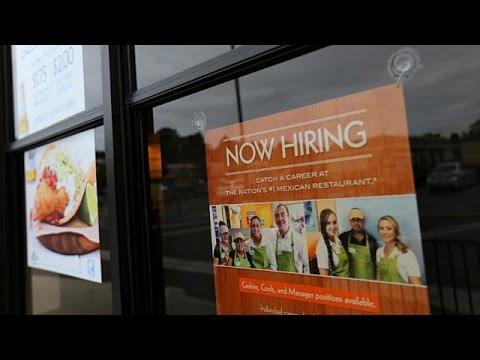 فلسطين اليوم - شاهد نمو قوي للوظائف الأميركية