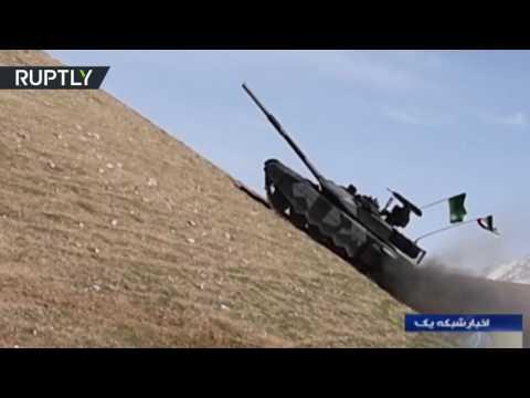 فلسطين اليوم - بالفيديو دبابة كرار متطوّرة من صنع إيراني وطني