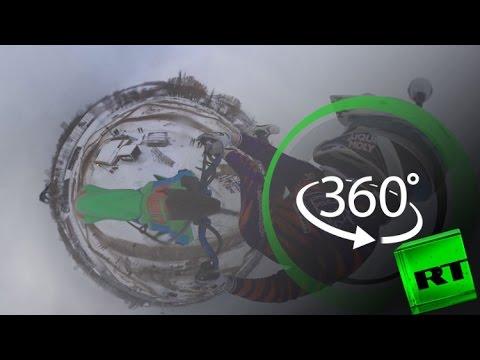 فلسطين اليوم - شاهد  سباق موتوكروس بين المحترفين في موسكو