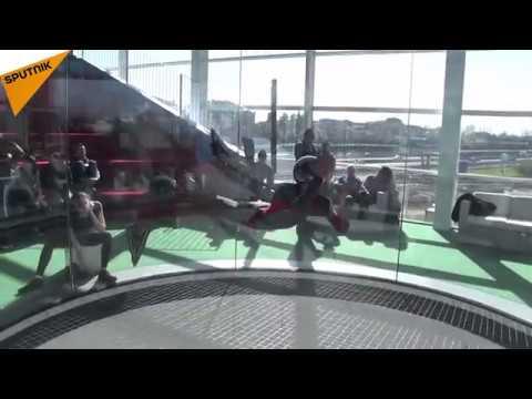 فلسطين اليوم - شاهد افتتاح أكبر أنبوب عديم الجاذبية في ميلان