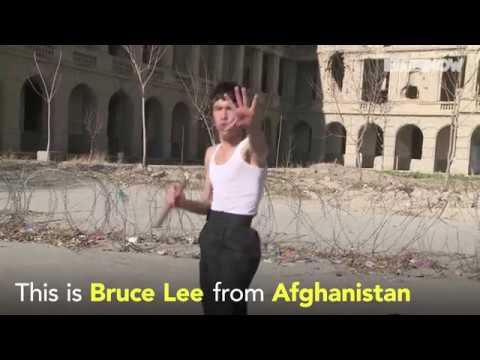 فلسطين اليوم - شاهد عباس علي زاده النسخة الأفغانية من بروس لي