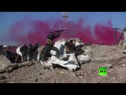 فلسطين اليوم - شاهد استمرار المعارك في البلدة القديمة غرب الموصل