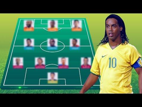 فلسطين اليوم - بالفيديو رونالدينيو يختار أفضل تشكيلة مكونة من 11 لاعبًا في تاريخ دوري أبطال أوروبا
