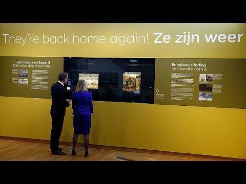 فلسطين اليوم - شاهد لوحتان لفان غوغ تعودان إلى المتحف في أمستردام