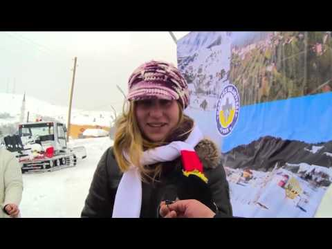 فلسطين اليوم - شاهد انطلاق مهرجان سنوي للثلج في شمال تركيا