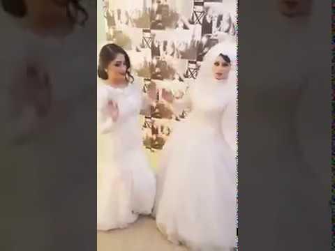 فلسطين اليوم - رقصة عروستين احتفلتا بزفافهما في ليلة واحدة