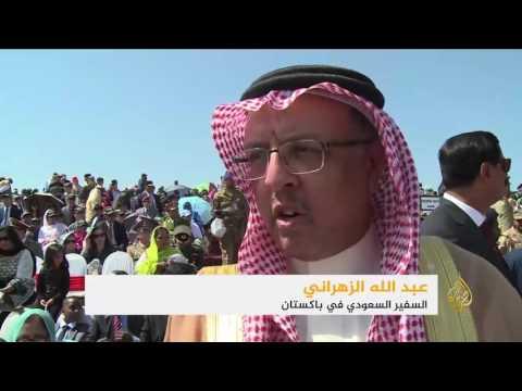 فلسطين اليوم - شاهد عرض عسكري باكستاني بمشاركة قوات سعودية وصينية وتركية