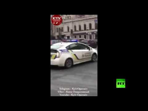 فلسطين اليوم - شاهد اللقطات الأولى لموقع اغتيال نائب روسي سابق وسط كييف