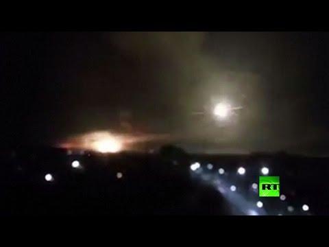 فلسطين اليوم - شاهد لحظة وقوع انفجار ضخم قرب مدينة بالاكليا الأوكرانية
