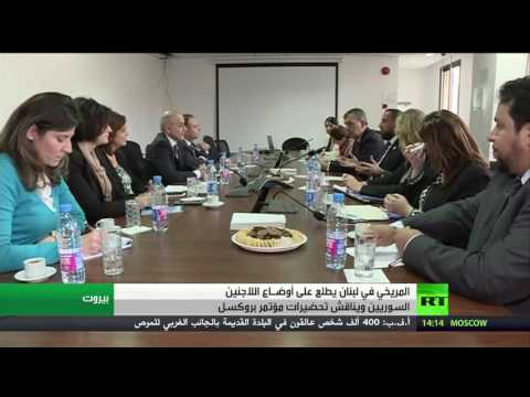 فلسطين اليوم - شاهد المريخي في بيروت تحضيرًا لمؤتمر بروكسل