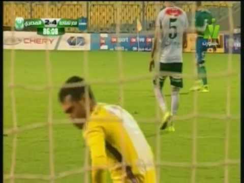 فلسطين اليوم - شاهد الهدف الرابع لـ مصر المقاصة أمام المصري
