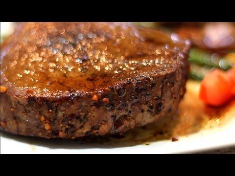 فلسطين اليوم - شاهد إعداد ستيك اللحم بالفرن