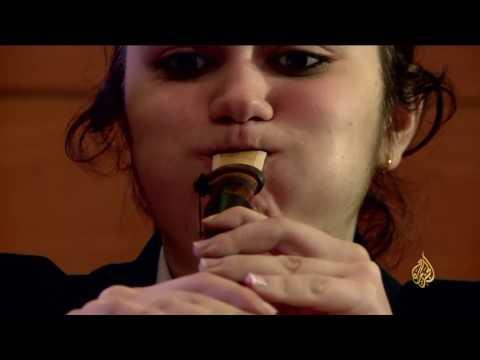 فلسطين اليوم - بالفيديو  تعرف على آلة الدودوك