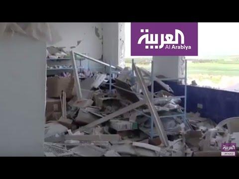 فلسطين اليوم - شاهد غارات جوية تواصل إخراج المستشفيات الميدانية عن الخدمة في إدلب