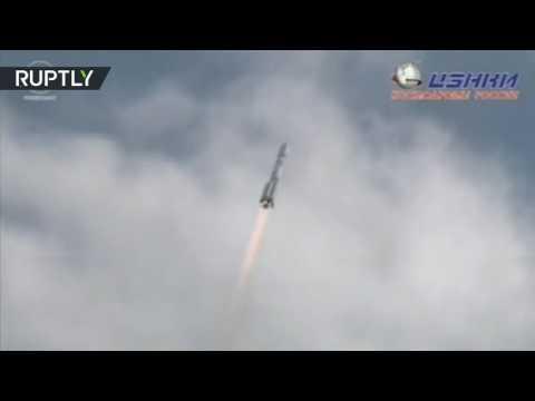 فلسطين اليوم - شاهد لحظة إطلاق صاروخ بروتونإم