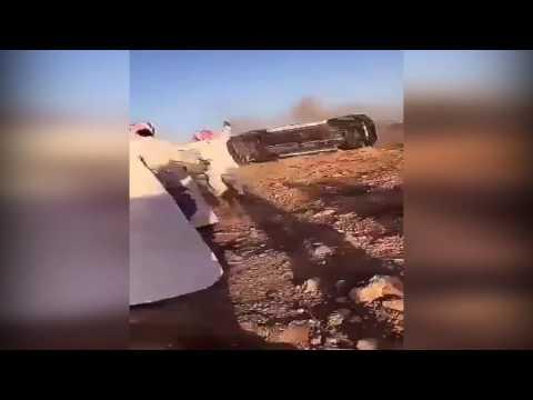 فلسطين اليوم - العناية الإلهية تنقذ شابا من حادث سير مروع