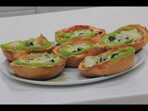 فلسطين اليوم - بالفيديو طريقة إعداد بيتزا بالخبز