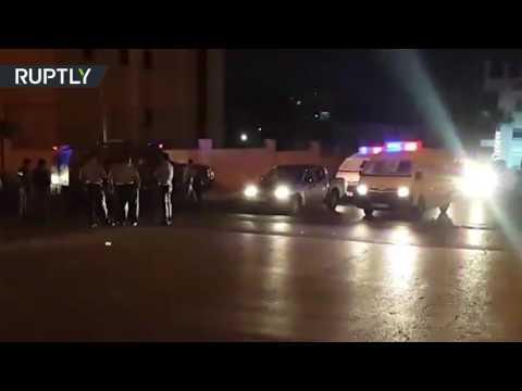 فلسطين اليوم - شاهد تفاصيل عملية إطلاق النار داخل السفارة الإسرائيلية في عمان