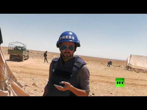 فلسطين اليوم - شاهد اللحظات الأخيرة لفقيد آرتي خالد الخطيب
