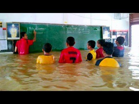 فلسطين اليوم - شاهد أندر وأغرب 10 مدارس حول العالم