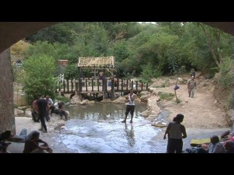 فلسطين اليوم - شاهد بحيرة ثامدا أوسيرغي بتيزي وزو مياه باردة ومناظر طبيعية خلابة