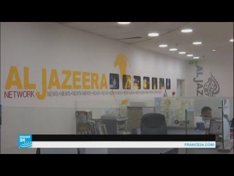 فلسطين اليوم - شاهد مساعٍ إسرائيلية متواصلة لإغلاق قناة الجزيرة