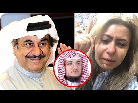 فلسطين اليوم - بالفيديو  مي العيدان تنهار بالبكاء بعد رحيل عبد الحسين عبد الرضا
