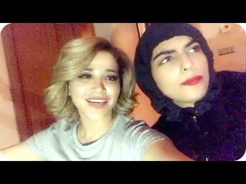 فلسطين اليوم - بالفيديو  نهى نبيل تغني عوافي مع سارة الودعاني
