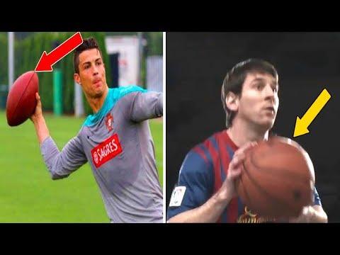 فلسطين اليوم - شاهد ممارسة لاعبي كرة القدم رياضة مختلفة