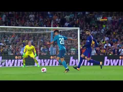 فلسطين اليوم - الهدف الثالث لريال مدريد في مرمى برشلونة