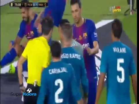 فلسطين اليوم - أهداف مباراة الكلاسيكو بين ريال مدريد وبرشلونة