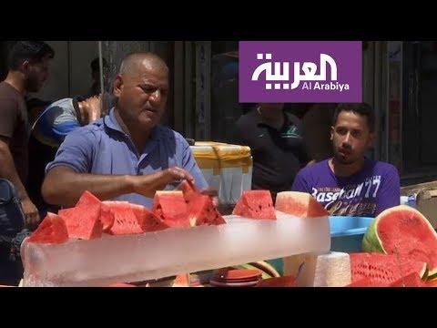 فلسطين اليوم - موجة حر شديدة تجتاح العاصمة بغداد