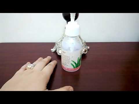 فلسطين اليوم - بالفيديو  استخدامات جل الصبار للبشرة وتقوية الشعر