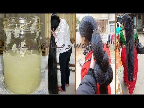 فلسطين اليوم - بالفيديو  وصفة رائعة تساعد على إطالة الشعر