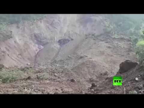 فلسطين اليوم - شاهد 46 قتيلًا جراء انهيار ترابي شمالي الهند