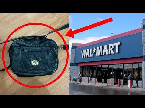 فلسطين اليوم - مرأة اشترت حقيبة من وول مارت