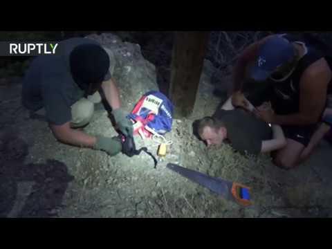 فلسطين اليوم - شاهد الأمن الروسي يلقي القبض على عميل لصالح أوكرانيا