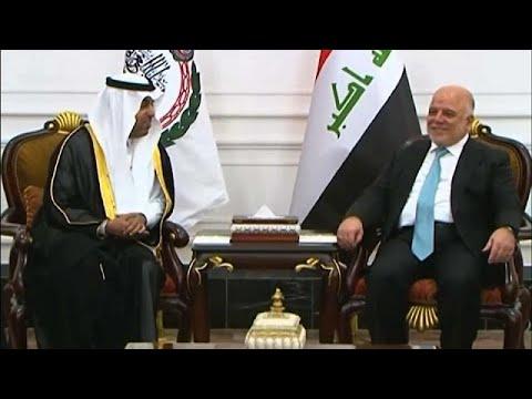 فلسطين اليوم - بالفيديو  رئيس البرلمان العربي يزور العراق دعمًا لوحدته