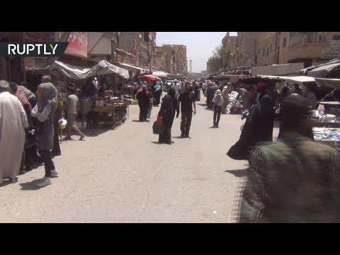 فلسطين اليوم - مواطنو دير الزور يرحبون بتقدم الجيش السوري في ريف المحافظة