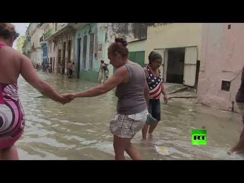 فلسطين اليوم - شريط فيديو جديد يظهر آثار إعصار إرما في كوبا