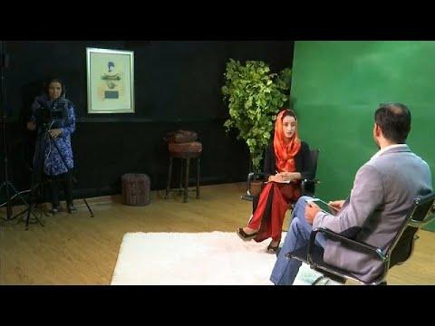 فلسطين اليوم - شاهد زان تي في قناة تلفزيونية للنساء فقط في أفغانستان