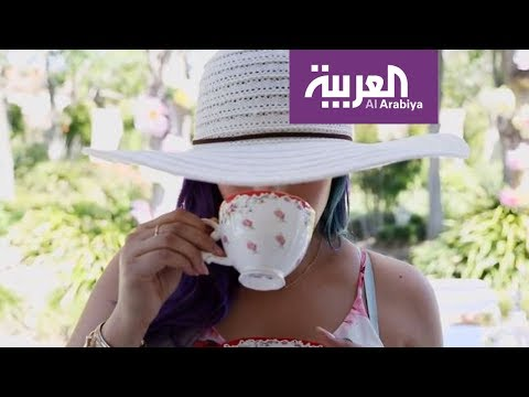 فلسطين اليوم - كيف تنسقين طاولة الحديقة لشرب الشاي