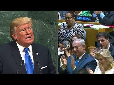 فلسطين اليوم - شاهد نتنياهو يؤكد أن خطاب ترامب هو الأكثر جرأة