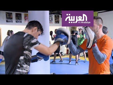 فلسطين اليوم - شاهد إقبال النساء والرجال على الملاكمة لإنقاص الوزن