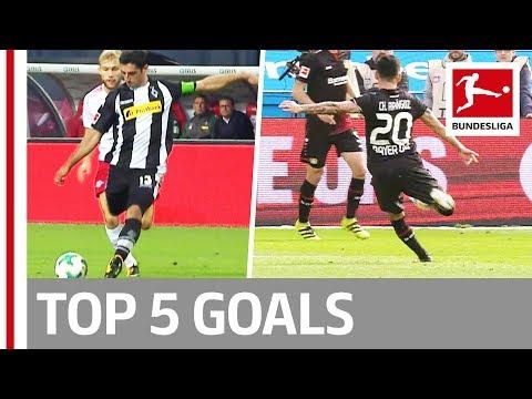 فلسطين اليوم - شاهد استمتع بأفضل 5 أهداف في الأسبوع الرابع في البوندزليغا