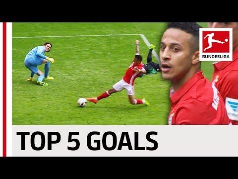 فلسطين اليوم - شاهد أفضل 5 أهداف لتياغو ألكانتارا في البوندزليغا